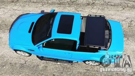 BMW M3 (E46) 2005 Pickup для GTA 5 вид сзади