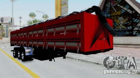 Kenworth T800 Carreta de Arena для GTA San Andreas