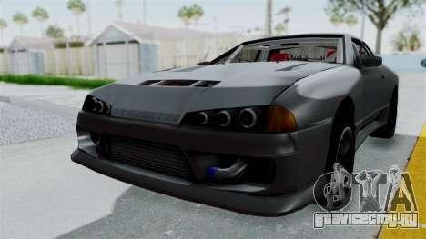 Elegy v2 для GTA San Andreas вид справа