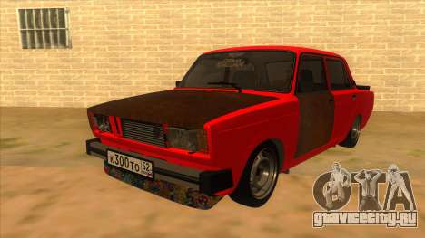 ВАЗ 2105 Боевая Классика для GTA San Andreas