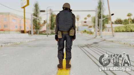 MGSV Phantom Pain RC Soldier Vest v2 для GTA San Andreas третий скриншот
