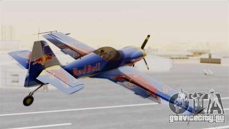 Zlin Z-50 LS Redbull для GTA San Andreas вид слева