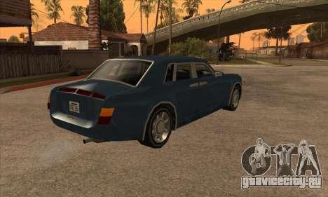 Rolls Royce Phantom для GTA San Andreas вид слева
