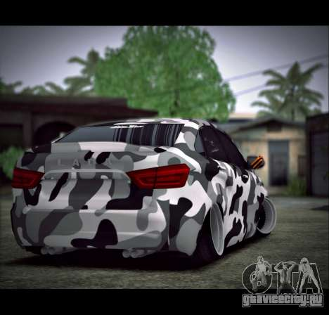 Lada Vesta Камуфляж для GTA San Andreas вид слева