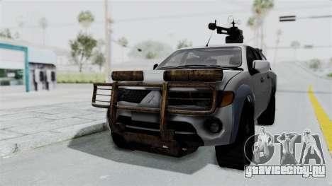 Mitsubishi L200 Army Libyan для GTA San Andreas
