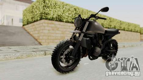 Mad Max Inspiration Bike для GTA San Andreas вид сзади слева