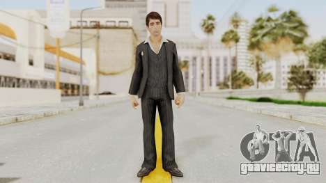 Scarface Tony Montana Suit v2 для GTA San Andreas второй скриншот