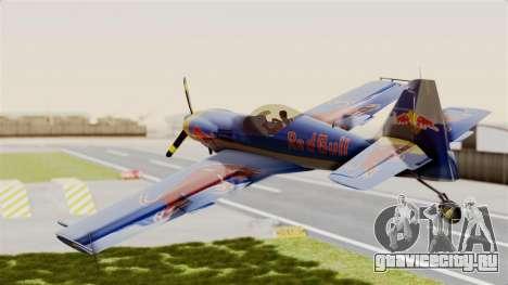 Zlin Z-50 LS Redbull для GTA San Andreas вид справа