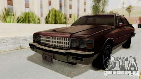 Chevrolet Caprice 1987 v1.0 для GTA San Andreas
