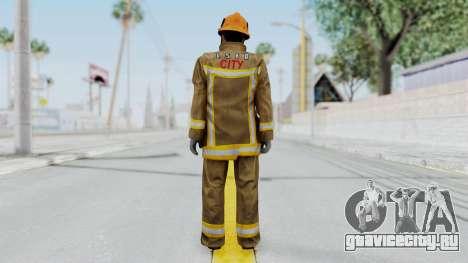 GTA 5 Fireman LS для GTA San Andreas третий скриншот