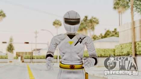 Alien Rangers - White для GTA San Andreas