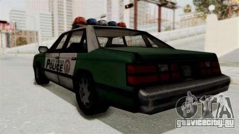 GTA VC Police Car для GTA San Andreas вид справа