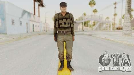 MGSV Phantom Pain Rogue Coyote Soldier Shirt v2 для GTA San Andreas второй скриншот