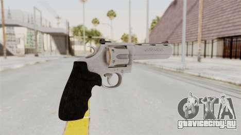 Colt .357 Silver для GTA San Andreas второй скриншот