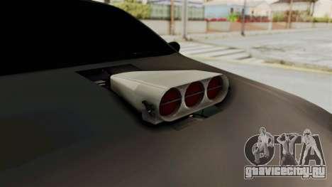 Nissan Maxima Tuning v1.0 для GTA San Andreas вид изнутри