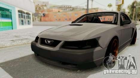 Ford Mustang 1999 Drift для GTA San Andreas вид справа