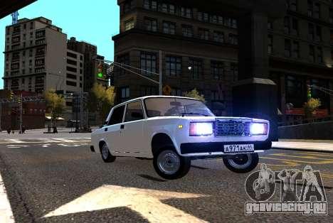 VAZ 2107 AzElow для GTA 4