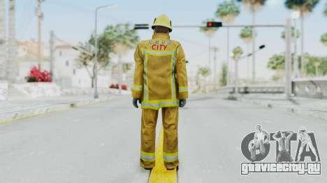 GTA 5 Fireman LV для GTA San Andreas третий скриншот