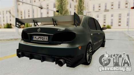 Nissan Maxima Tuning v1.0 для GTA San Andreas вид сзади слева