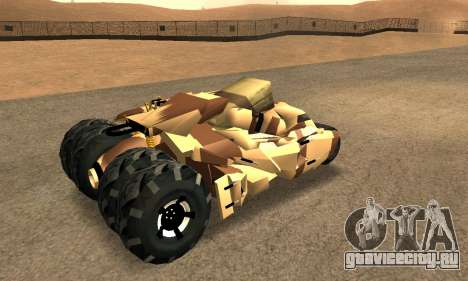 Army Tumbler Rocket Launcher from TDKR для GTA San Andreas двигатель
