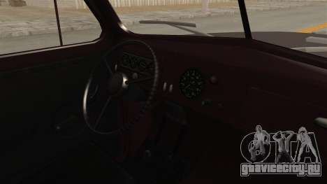 УАЗ-300 IVF для GTA San Andreas вид изнутри