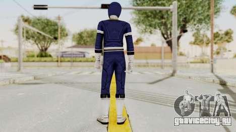 Power Rangers Turbo - Blue для GTA San Andreas третий скриншот