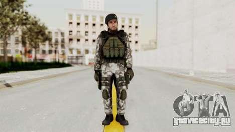 Black Mesa - HECU Marine Beret для GTA San Andreas второй скриншот