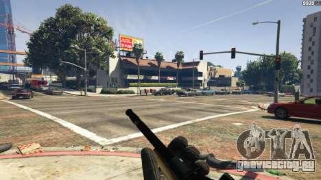Steyr AUG A1 для GTA 5 четвертый скриншот