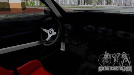 Elegy v2 для GTA San Andreas вид сзади