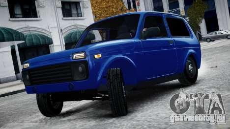 Niva 2015 Aze style для GTA 4 вид сзади слева