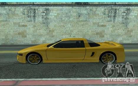 BlueRay's V9 Infernus для GTA San Andreas вид слева