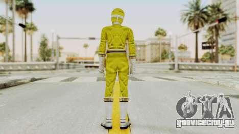 Power Rangers Lightspeed Rescue - Yellow для GTA San Andreas третий скриншот
