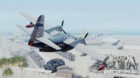 Grumman HU-16 Albatross для GTA San Andreas вид слева