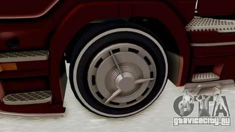 Scania R730 для GTA San Andreas вид сзади