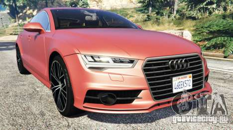 Audi A7 2015 для GTA 5