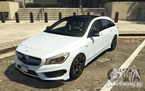 Mercedes-Benz CLA 45 AMG Shooting Brake для GTA 5