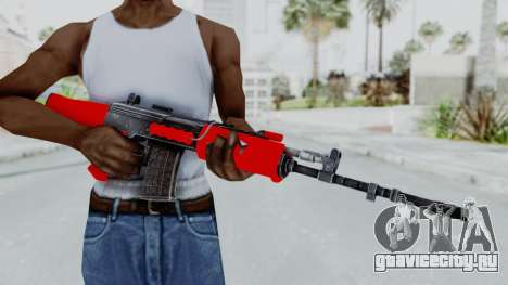 IOFB INSAS Red для GTA San Andreas третий скриншот