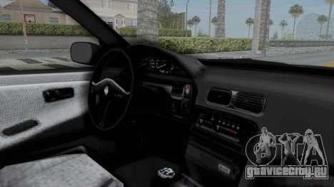 Nissan Sileighty Rocket Bunny для GTA San Andreas вид изнутри