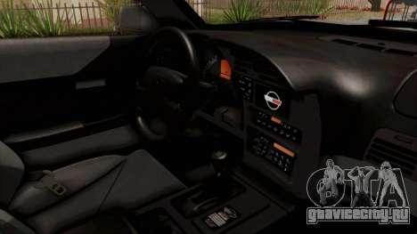 Chevrolet Corvette C4 Monster Truck для GTA San Andreas вид изнутри
