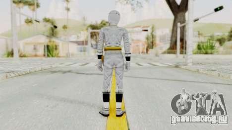 Alien Rangers - White для GTA San Andreas третий скриншот