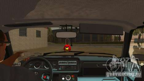 ВАЗ 2107 РОССИЯ для GTA San Andreas вид изнутри