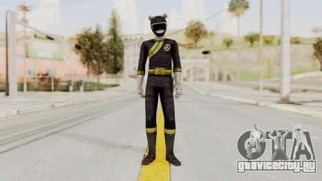 Power Rangers Wild Force - Black для GTA San Andreas второй скриншот