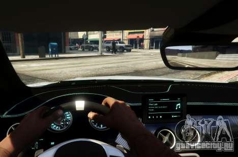 Mercedes-Benz CLA 45 AMG Shooting Brake для GTA 5 вид сзади справа