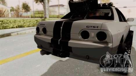 Nissan Skyline R32 Rusty Rebel для GTA San Andreas вид сбоку