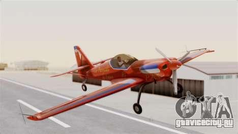 Zlin Z-50 LS v3 для GTA San Andreas вид сзади слева
