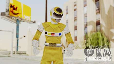 Power Rangers In Space - Yellow для GTA San Andreas