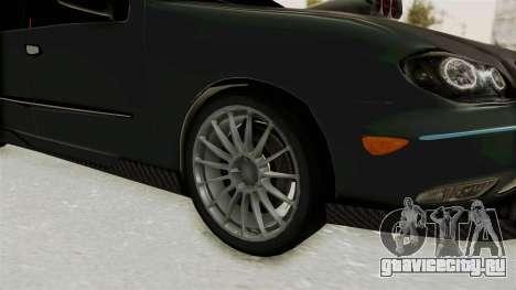 Nissan Maxima Tuning v1.0 для GTA San Andreas вид сзади