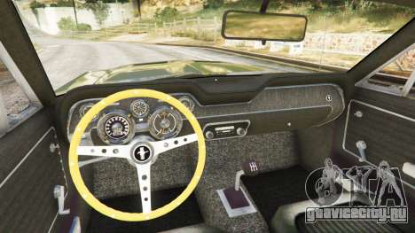 Ford Mustang 1968 для GTA 5