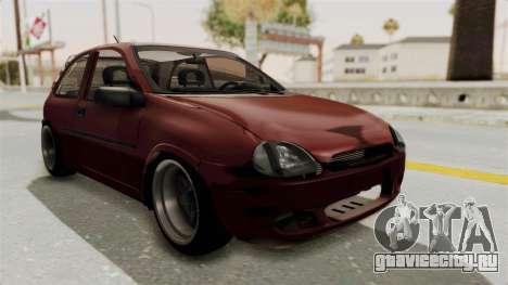 Chevrolet Corsa Hatchback Tuning v1 для GTA San Andreas