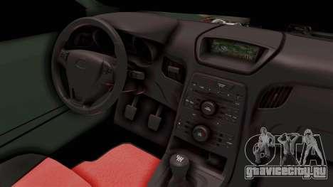 Nissan Maxima Tuning v1.0 для GTA San Andreas вид сбоку